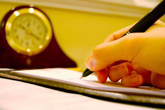 突然の手紙の書き方や例文・文例・書式や言葉の意味などと記入例