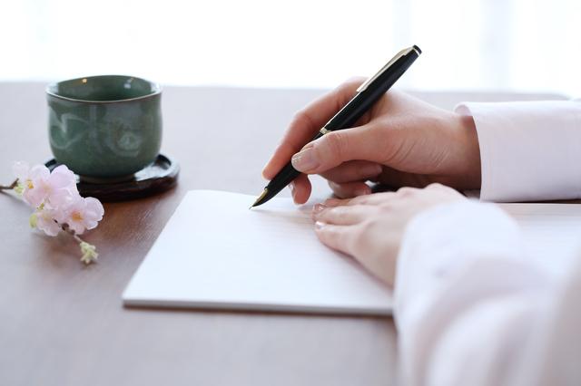 4月の手紙の書き方や例文・文例・書式や言葉の意味などと記入例