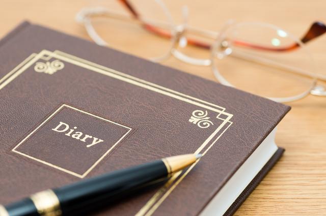 一言日記の書き方や例文・文例・書式や言葉の意味などと記入例