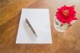 Preparing to write love letter