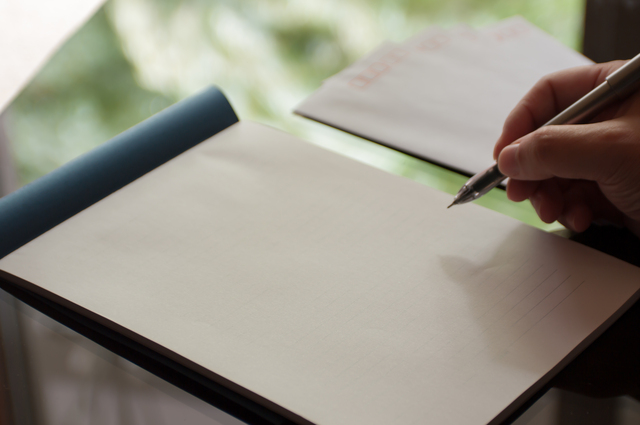 8月の手紙の書き方や例文・文例・書式や言葉の意味などと記入例