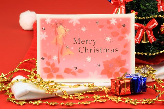 クリスマスカードの書き方や例文・文例・書式や言葉の意味などと記入例