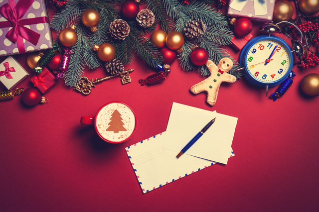 12月の手紙の書き方や例文・文例・書式や言葉の意味などと記入例