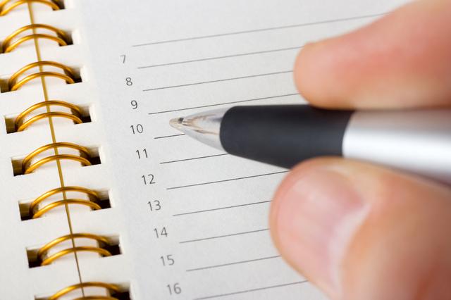 キューシートの書き方や例文・文例・書式や言葉の意味などと記入例