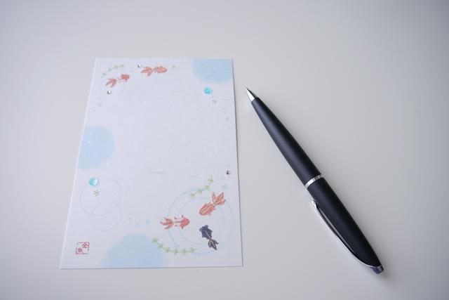 手紙季節挨拶の書き方や例文・文例・書式や言葉の意味などと記入例