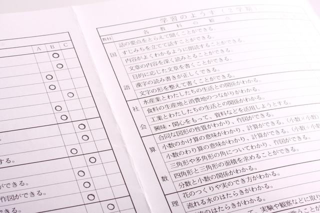 所見の書き方や例文・文例・書式や言葉の意味などと記入例