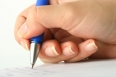 girl write
