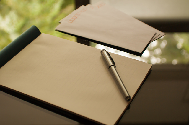 感動する手紙の書き方や例文・文例・書式や言葉の意味などと記入例
